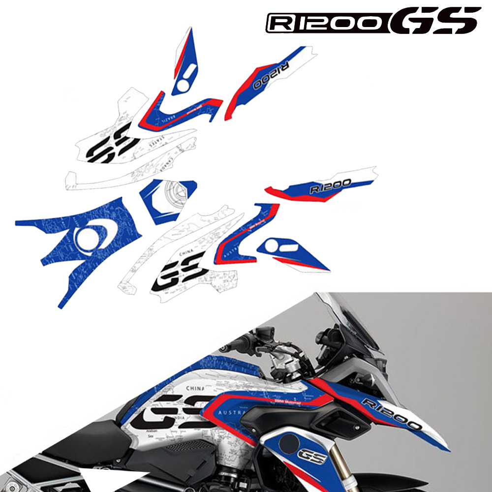 Car Body Decoration Protection Sticker Reflective Decal For BMW R1200GS R1200 GS LC 2014 2015 2016 2017 2018 2019 Motorcycle