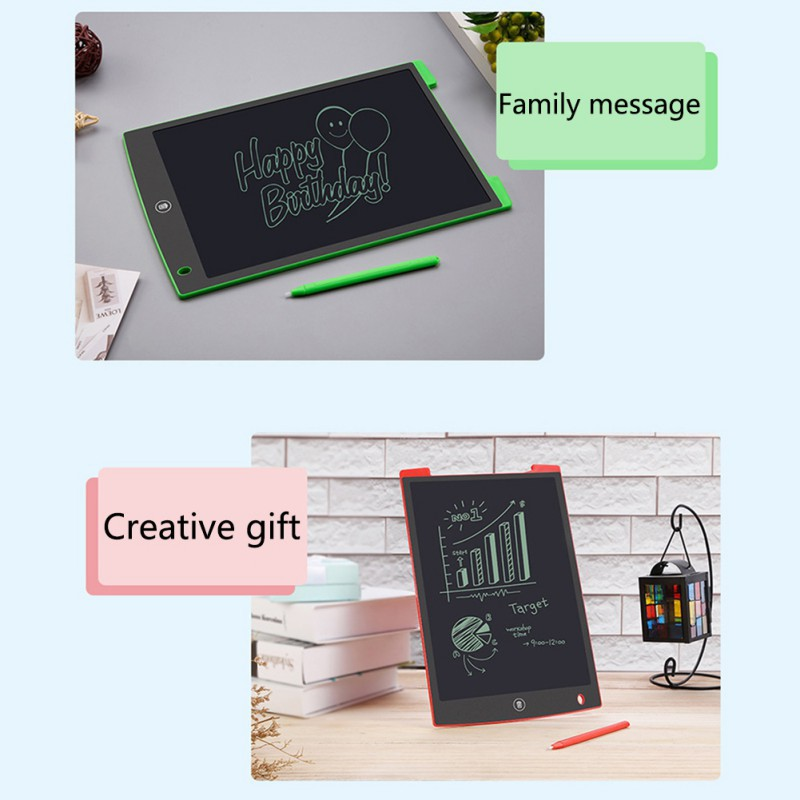 Practical Notice 8.5/12 Inch Portable LCD Writing Tablet Digital Drawing Tablet Suitable For Family School Office Top Grade