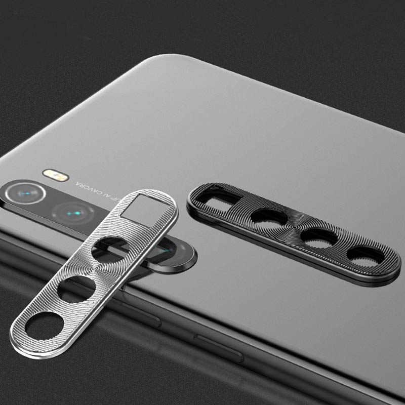 Osłona obiektywu aparatu pierścień poszycie aluminium dla Xiaomi Redmi Note 8 Pro 8Pro futerał na aparat pierścień okładkowy ochrona ochronny luksus