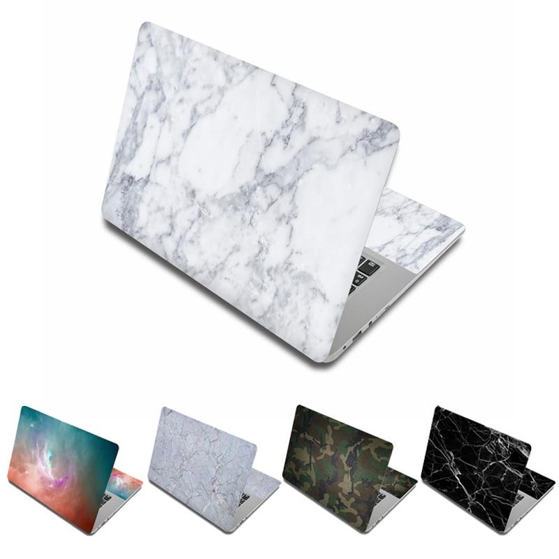 Marmer Marmer Laptop Stiker Kulit 15.6