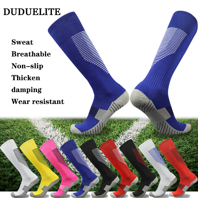 DUDUELITE Compression Football Running Basketball Ski Hiking Sock Relief Pain High Tube Stockings Sport Socks Men Women Eu 39 43