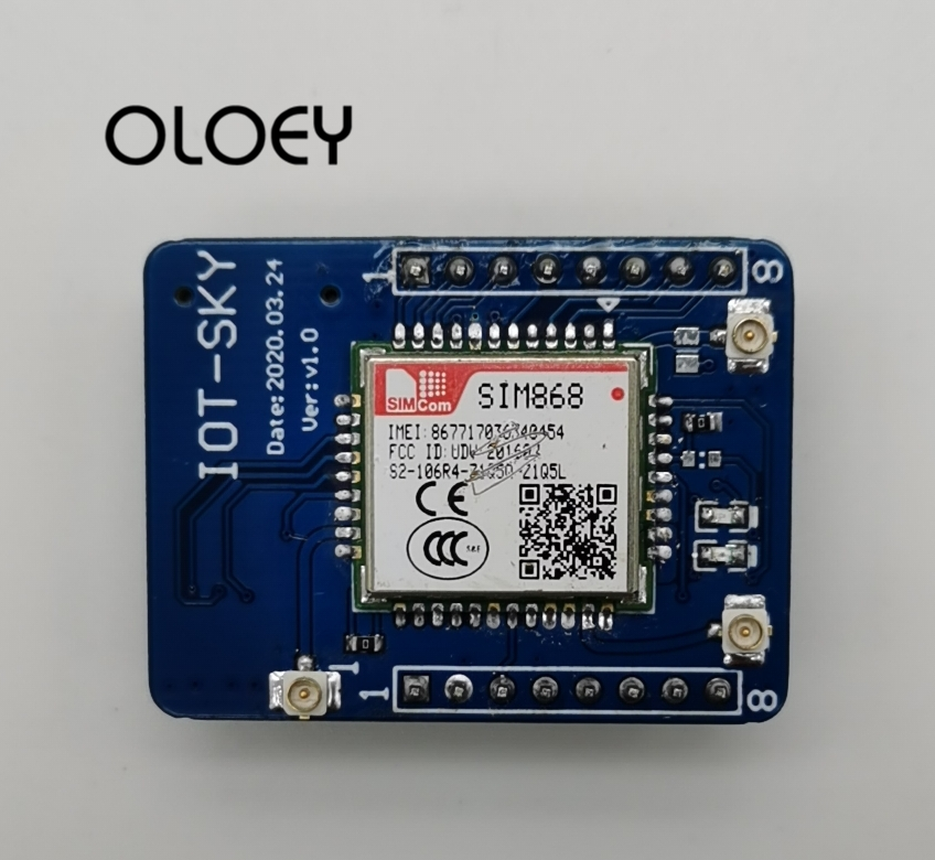 SIMcom SIM868 GPS+GPRS Core Board, MQTT DTMF BT3.0 GPS , Provide Module Firmware Update Service,For Arduino STM32 C51