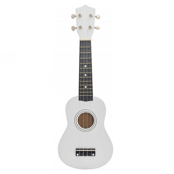 Mini 21 Inch Soprano Ukulele 12 Frets Instrument Wood Guitar Musical Ukulele Hawaiian Style Guitar for Kids Birthday 20 frets electric bass guitar neck glossy paint guitar parts no have frets guitar accessories parts musical instrument