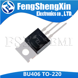 Image 2 - 10pcs/lot New BU406 TO 220  SILICON NPN SWITCHING TRANSISTOR