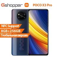 POCO X3 Pro NFC EAC Version 8GB 256GB RU Smartphone Snapdragon 860 120Hz 48MP AI Camera 5160 Battery 33w Charging 1