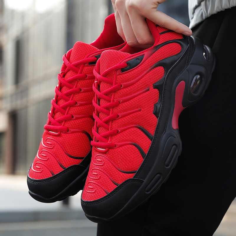 Новые модные мужские дышащие сетчатые Спортивные Повседневные кроссовки для прогулок, бега, фитнеса, тренировок, спортивная обувь для мужчин, большие размеры 5-11