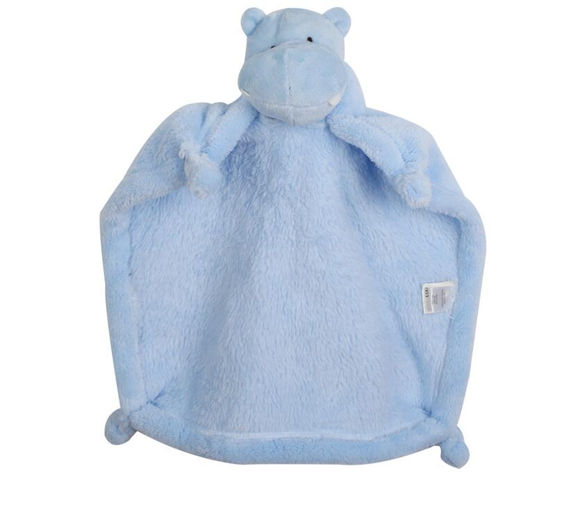 Soft Newborn Baby Toys Doll Soothing Towel Infant Soft Soother Towel Cartoon Animal Educational Plush Toys