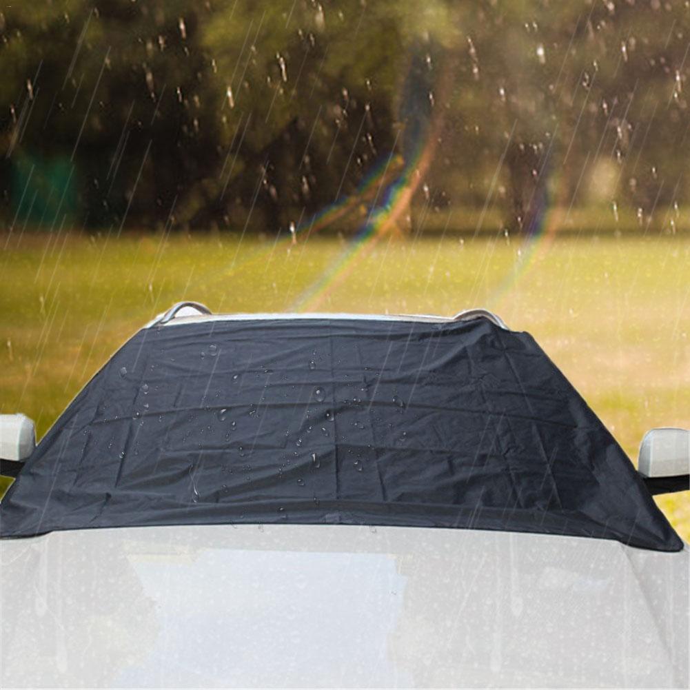 Автомобильный солнцезащитный чехол на лобовое стекло, солнцезащитный козырек для автомобиля, солнцезащитный козырек от снега, защита от мороза и льда для автомобилей, грузовиков