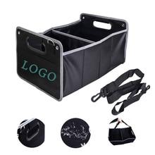 car storage organizers For Audi Sline quattro A1 A3 A4 A5 A6 A7 S3 S5 S6 TT Q3 Q5 Q7 accessories foldable car truck bags box net