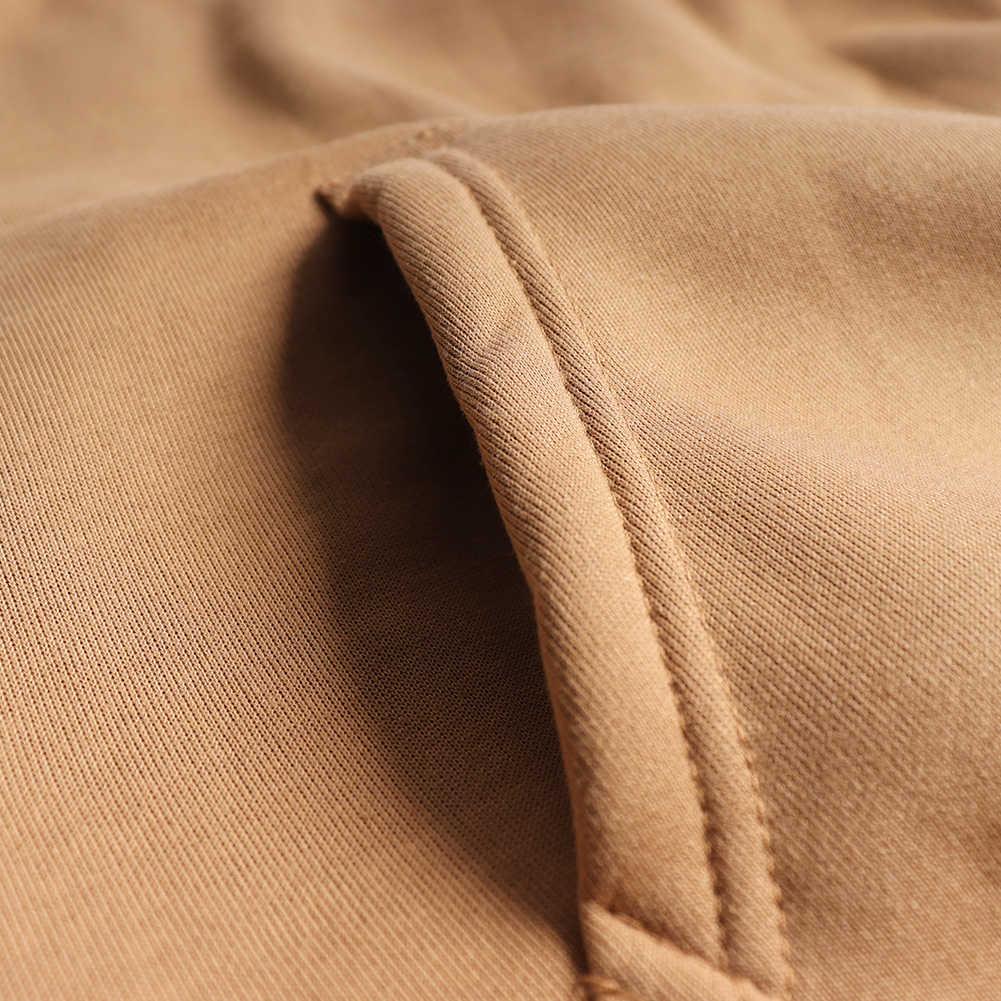 JODIMITTY Formato di Modo Variopinto Felpe degli uomini di Addensare Vestiti di Inverno Felpe Uomini Hip Hop Streetwear Solido In Pile Uomo Felpa Con Cappuccio