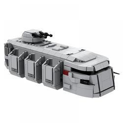 Star wars Moc-38801 transporte de tropas imperial compatível com lego brinquedos modulares