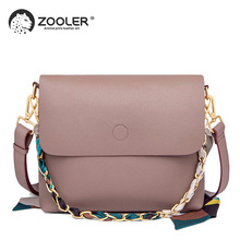 купить ZOOLER Women Bag Female Shoulder Bag Handbag Women Famous brands Genuine Leather Bag Ladies Crossbody Messenger Bags Ribbons дешево