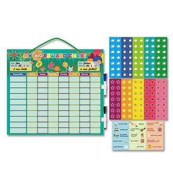 Self-regulation Table Magnet Standard Good Habits Reward Chart Self Discipline Chart Durable Growth Record Board image