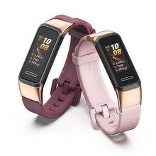 Ремешок на запястье для браслете Huawei Band 4 3 Смарт-браслет силиконовый ремешок для Huawei 3 4 Pro браслет Correa для Honor Band 5i Pulsera