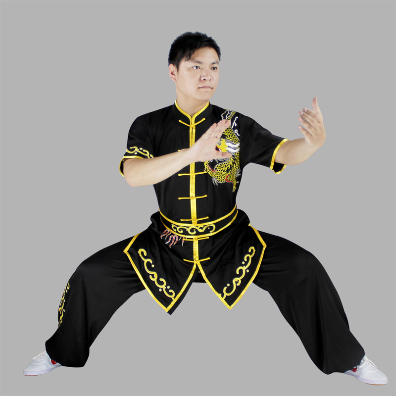 Loose Wushu Clothing Uniform Wushu Costume Kung Fu Uniform Clothes Martial Arts Uniform Chinese Warrior Costume Exercise