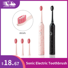 Sonic Electric Toothbrush Long Battery Life Tooth Brush Ultrasonic Automatic Toothbrush USB Fast Rechargeable couple toothbrush