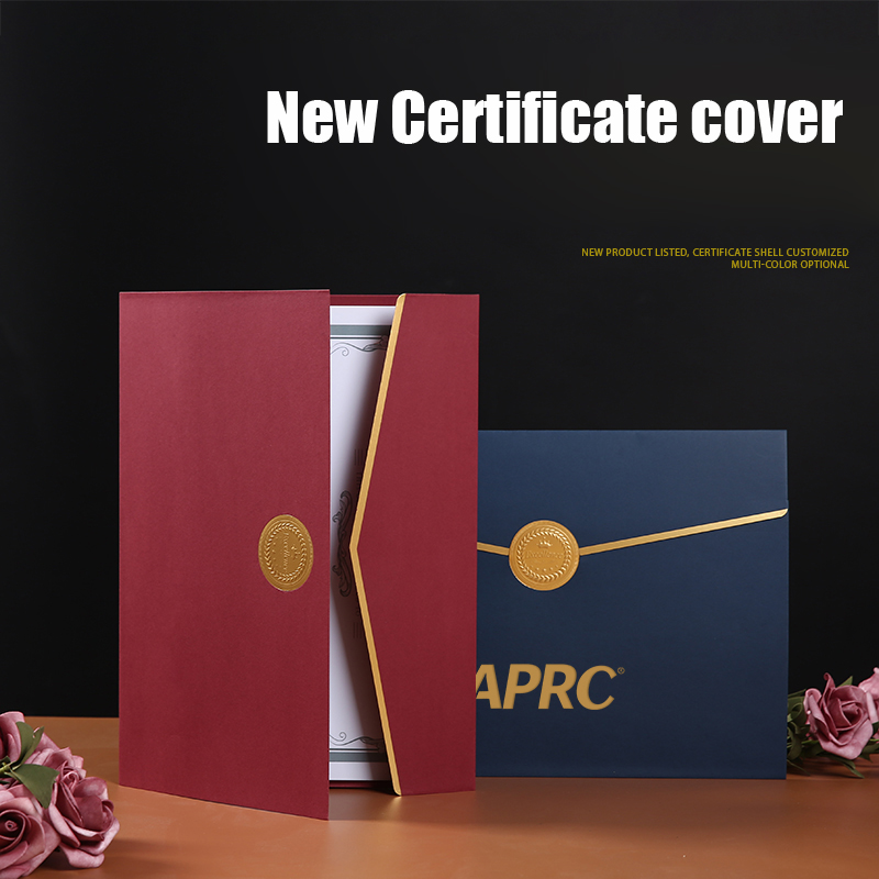 Cuckoo Certificate Honor Case Appointment Paper Document Storage A4 Paper Cover Completion Certificate Inner Core Cover Creative