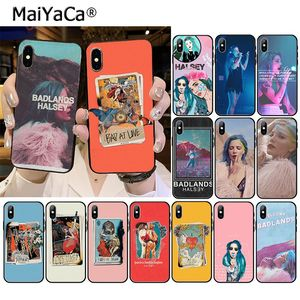 MaiYaCa Halsey Colors Lyrics Badlands Phone Accessories Case for iPhone 11 Pro XS MAX XS XR 8 7 6 Plus 5 5S SE(China)