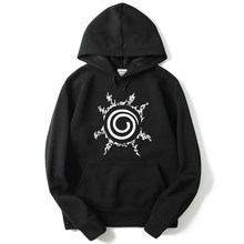 Mannen Sweatshirts Naruto Uzumaki Naruto Harajuku Hoodie Hoodies Sweatshirt Mannen 2018 Nieuwe Winter Japan Cartoon Hoody(China)
