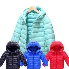 Хлопковая зимняя модная спортивная куртка для мальчиков и девочек; верхняя одежда; детская куртка с хлопковой подкладкой; зимнее теплое пальто для мальчиков и девочек