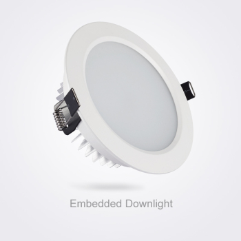 SCON DC90-265V Living Room Round 2.5inch Mini 5W 7W All White Modern LED Ceiling COB LED Recessed Dimmable Downlight