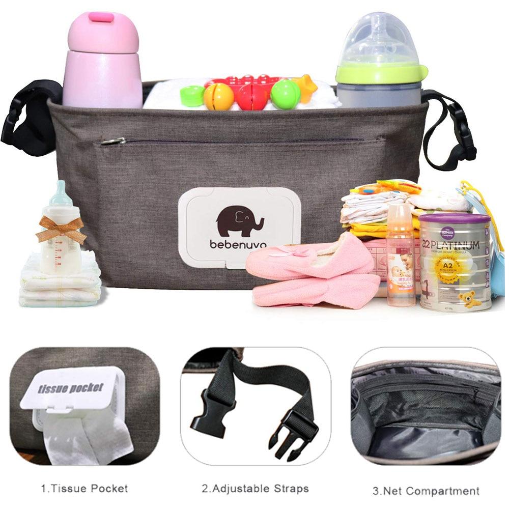 Stroller Organizer Multifunctional Baby Stroller Storage Bag Bottle Water Bottle Bag Baby Stroller Bag Hanging Bag