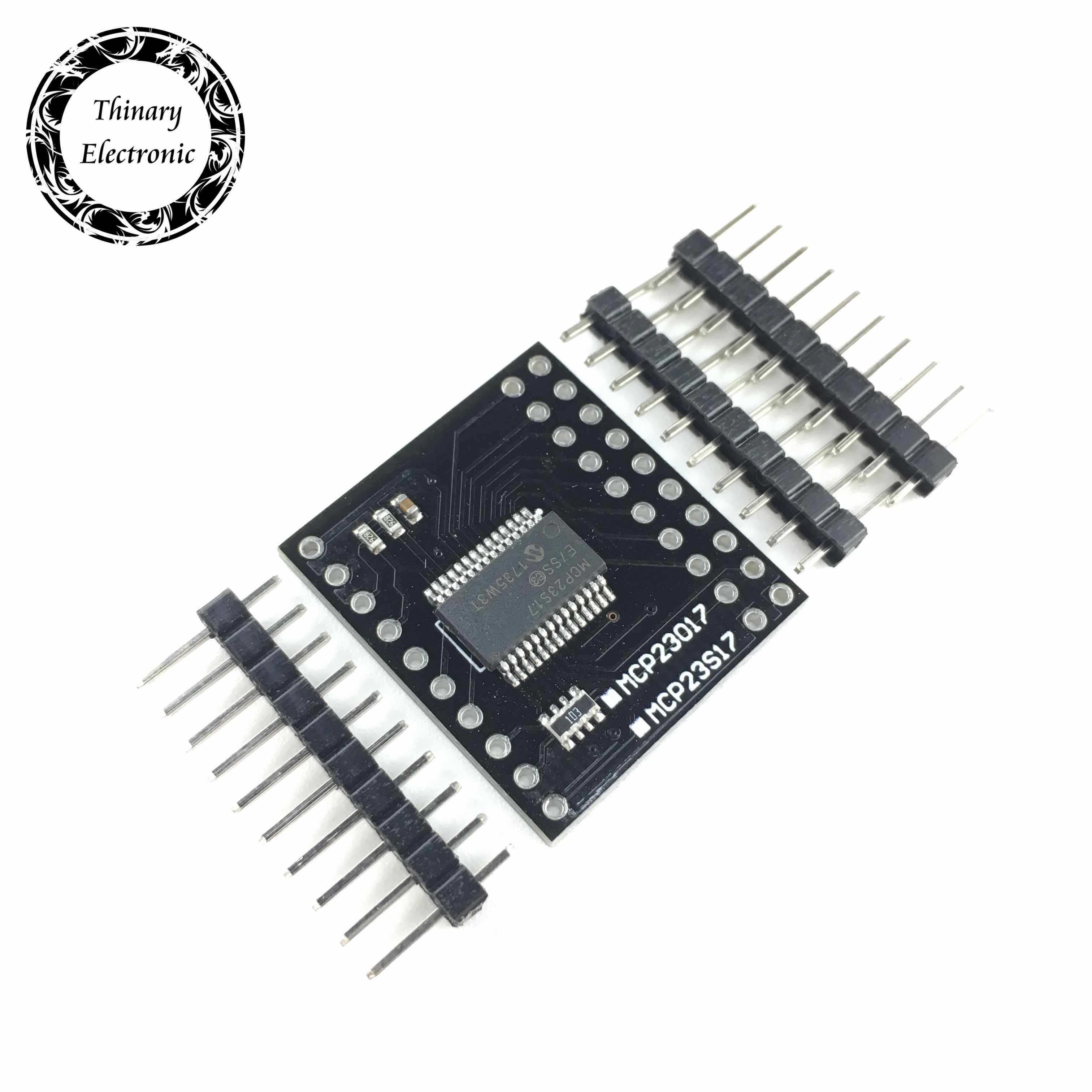 SPI Módulo de Interface Serial IIC I2C MCP23017 MCP23S17 Bidirecional 16-Bit I/O Expander Pinos 10Mhz Serial módulo de Interface
