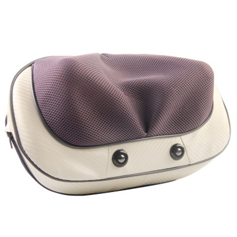 Relaxation Electric Massage Pillow For Neck Vibrator Shoulder Back Foot Heating Kneading Shiatsu Car Home Massager