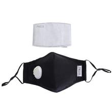 Anti Vervuiling Masker Stofmasker Wasbare Herbruikbare Maskers Katoen Unisex Mond Moffel Voor Allergie/Reizen/Fietsen