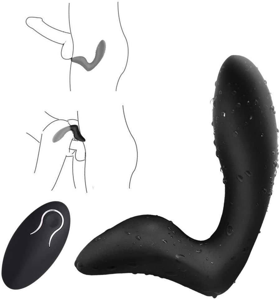 Vibrating Prostate Massager For Man Women ,Wireless Remote Control, Rechargeable Vibrating Stimulator Plug Multi Stimulation Pat