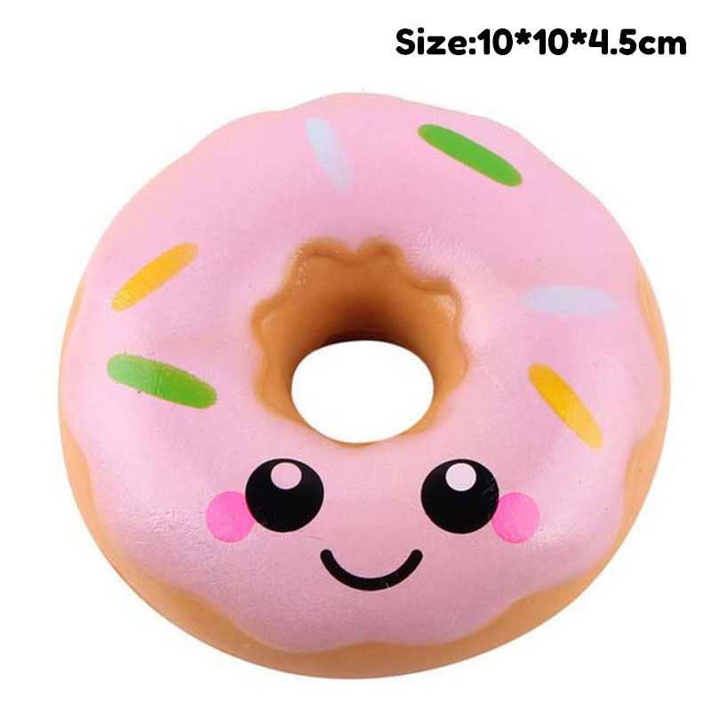 Kawaii Cute Donut Antistress Squishy Toy Unicorn Cake Slow Rising Squeeze PU Simulation Snack Stress Relief Kids Toys Xams Gift