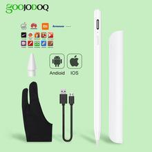 Para ipad caneta caneta stylus para apple lápis 1 2 caneta de toque para tablet ios android stylus penc para ipad xiaomi huawei universal