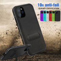 20pcs For iPhone SE 7 8 XR XS Max 11 Pro Max Redpepper IP68 Waterproof Case Dirtproof Shockproof Dropproof Snowproof Cover Case