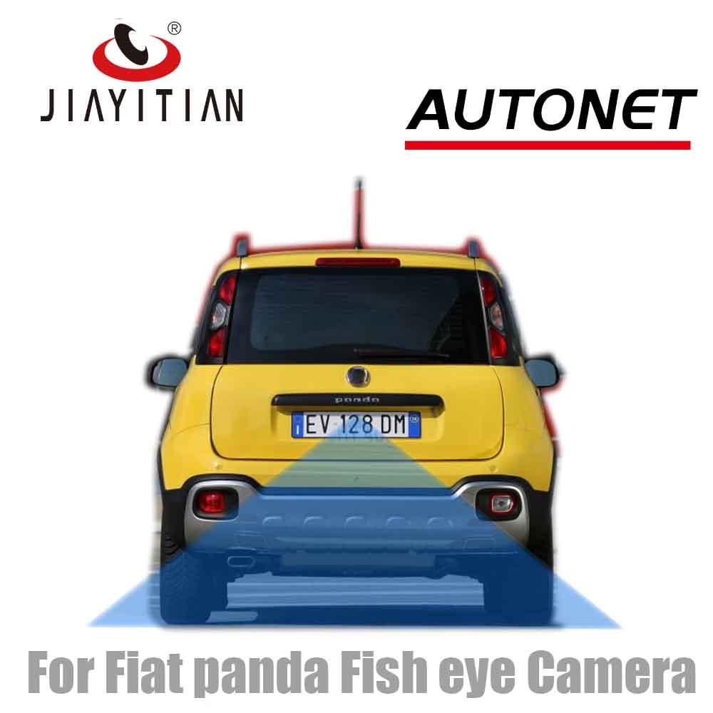 JIAYITIAN Rear View Camera For Fiat Panda 4X4 Cross SUV 2012~2019 Fish Eye CAM HD/CCD/Night Vision/Backup Reverse Parking Camera