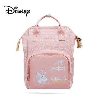 Disney Mickey USB Mommy Maternity Diaper Bags Large Capacity Baby Organizer Travel Baby Care Bag Fashion Mom Diaper Bag Backpack - BB0144
