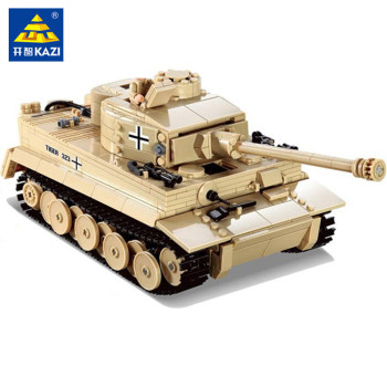 995Pcs German King Tiger Tank Model Building Blocks Sets Military Technic WW2  Army Soldiers DIY Brinquedos Bricks Kids Toys tamiya rising german steyr vehicles model 1500 a 01 military vehicles 35305 army officers and soldiers