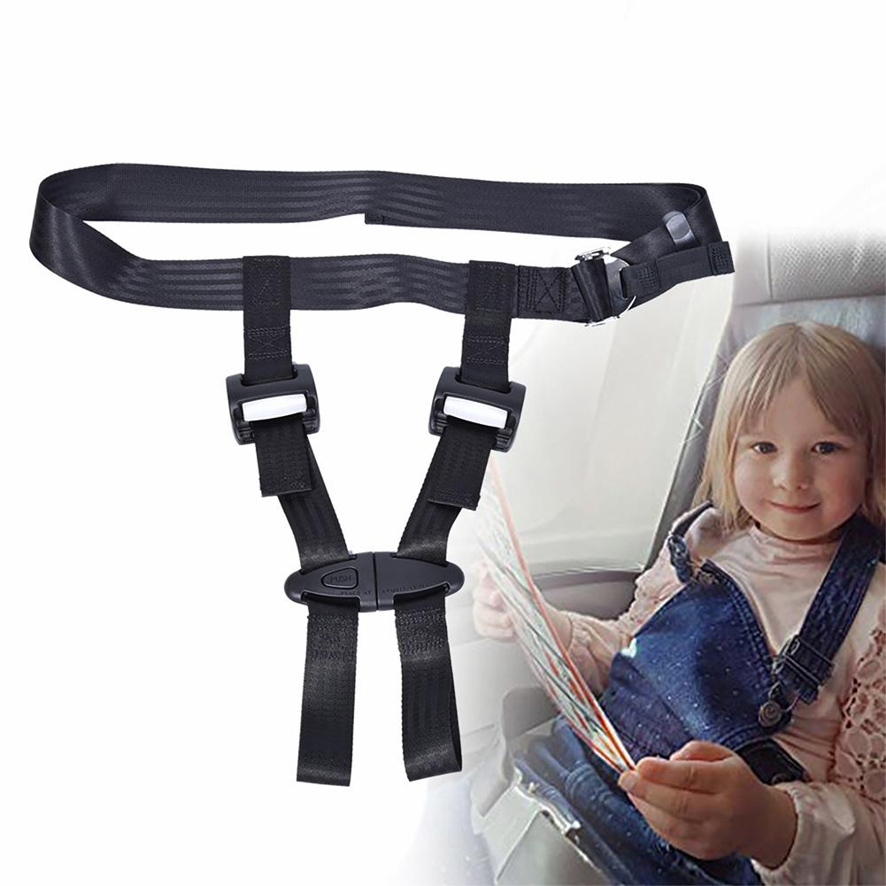 Child Airplane Travel Safety Harness Portable Car Safety Seat Belt Adjustable Baby Safety Strap Infant Toddler Safety Harness