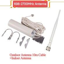 ZQTMAX אנטנה עבור 2g 3G 4g סלולארי אותות בוסטרים משחזר 1800 900 850 2100 2600mhz אינטרנט אות מגבר