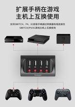 Para switch/ps4/xboxone ipega PG 9133 teclado com fio e adaptador conversor de mouse