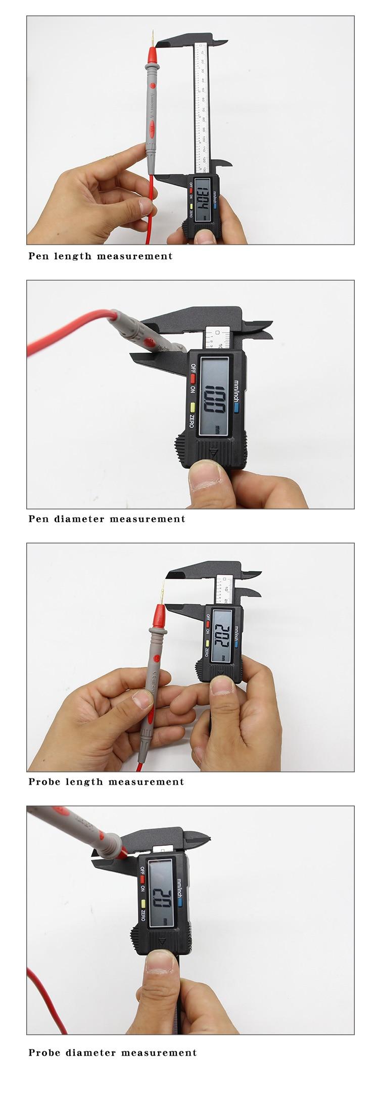 H2388110b0f97414ab4311d7f567862f5c 1Pair Universal Digital 1000V 10A 20A Thin Tip Needle Multimeter Multi Meter Test Lead Probe Wire Pen Cable Multimeter Tester