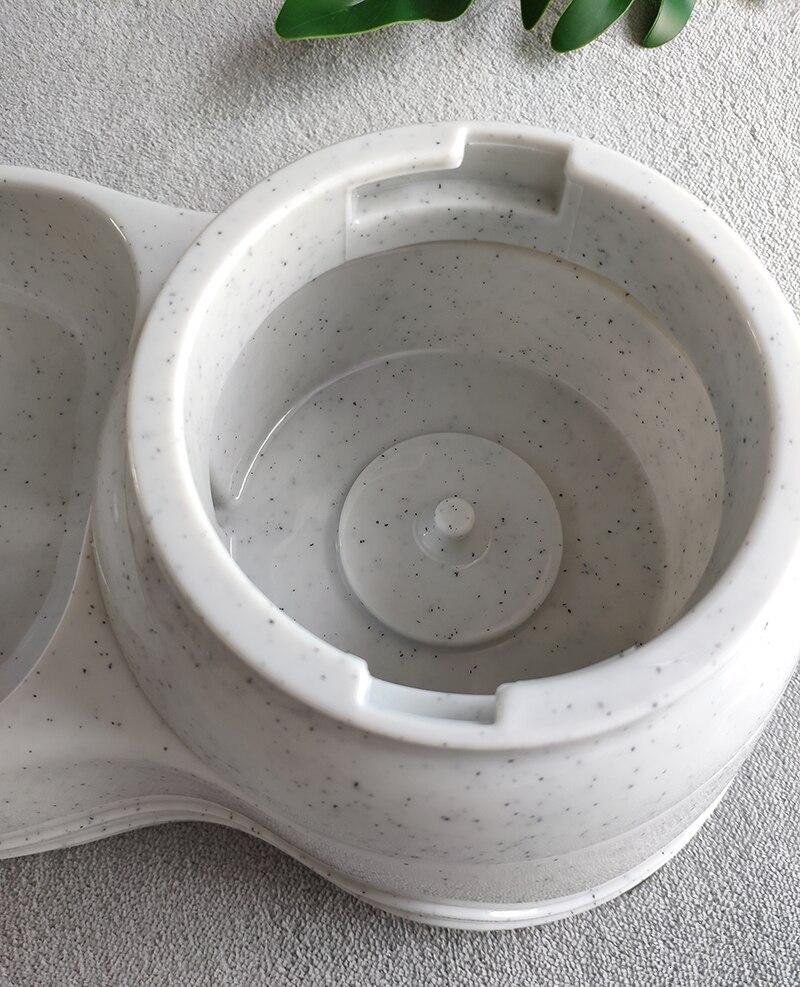 tigela gato alimentador automático tigela para cão