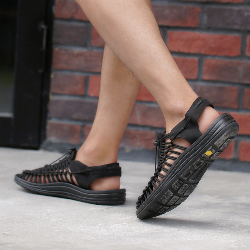 2021 Summer Trendy Woven Sandals Fashion Outdoor Non-slip Quick-drying Upstream Shoes Lovers Casual Breathable Beach Shoes
