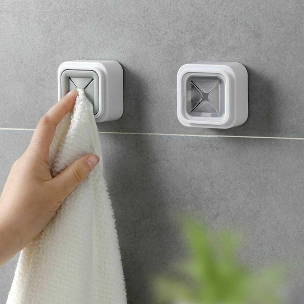壁搭載し自動粘着布茶タオルラックナプキンプッシュホルダーキッチン浴室 2 色