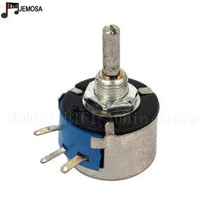 Image 3 - 10PCS DIY HIFI Single Turn Draadgewonden Potentiometers WX14 12 3W 47R 56R 100R 220R 470R 1K 2.2K 4.7K 10K 20K 5% Filament Balans