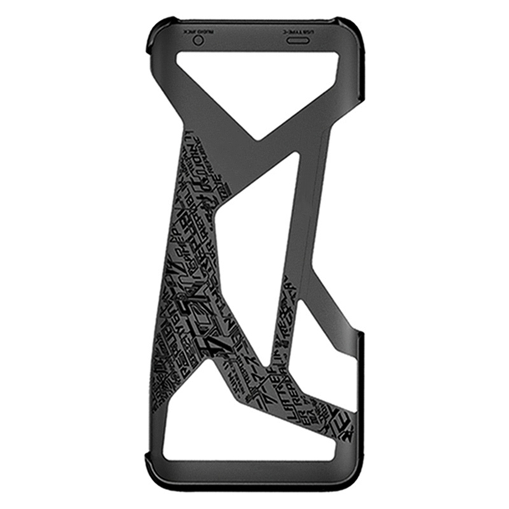 Image 5 - For Asus ROG 2 Phone Case Creative Hollow Design ROG Game Cover Mobile Phone Protective Back ShellFitted Cases
