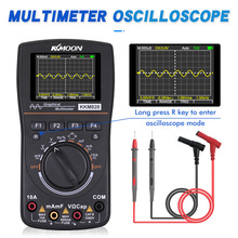Digital Oscilloscope Multimeter Kkmoon Kkm828 Color-Screen Intelligent 1mhz HD Bandwidth