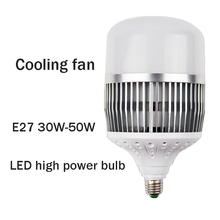 LED Bulb Light High Power White Light Warm Light 30W 50W E27 E40 Industrial Lighting Used In Gym Factory Warehouse Bulb