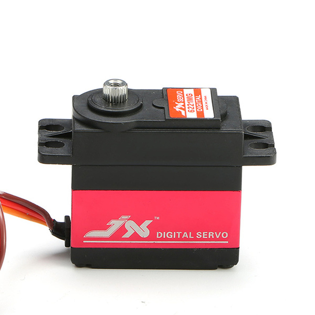 JX PDI-6221MG 6221MG  20KG Large Torque Digital Standard Servo For RC Model TRAXXAS Baja Car Helicopter Airplane Boat