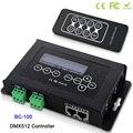 BC-100 DC9V RGB контроллер DMX512 сигнал 170 пикселей светодиодный световой контроллер ЖК-дисплей и радиочастотный беспроводной пульт дистанционного...
