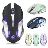 Rechargeable T1 Wireless Silent LED Backlit USB Optical Ergonomic Gaming Mouse LOL Gaming Mouse Surfing The Mouse